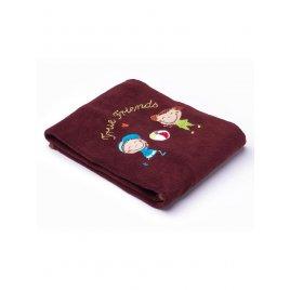 Sensillo Dětská deka Sensillo Děti 75x100 cm brown