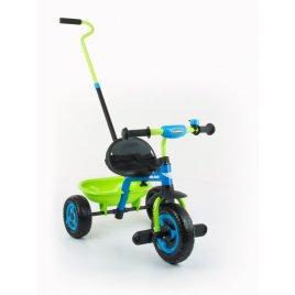 Milly Mally Dětská tříkolka Milly Mally Boby TURBO blue-green