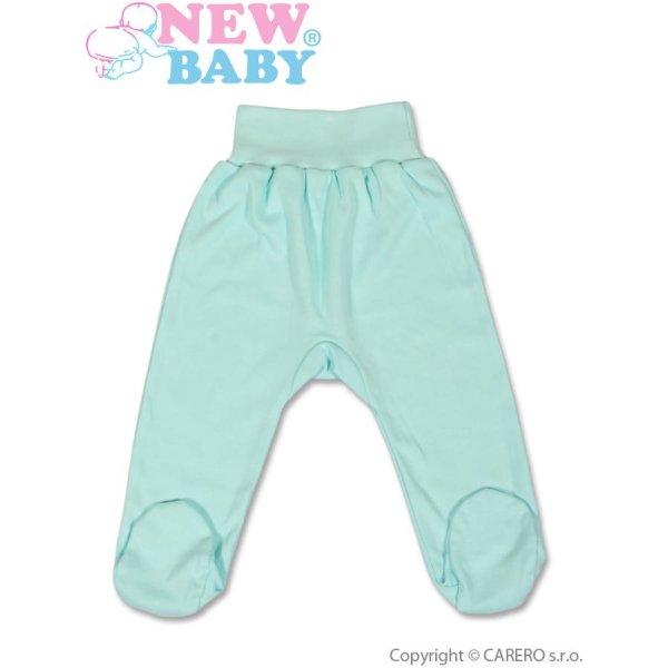 New Baby Kojenecké polodupačky New Baby tyrkysové Tyrkysová
