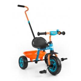 Milly Mally Dětská tříkolka Milly Mally Boby TURBO orange