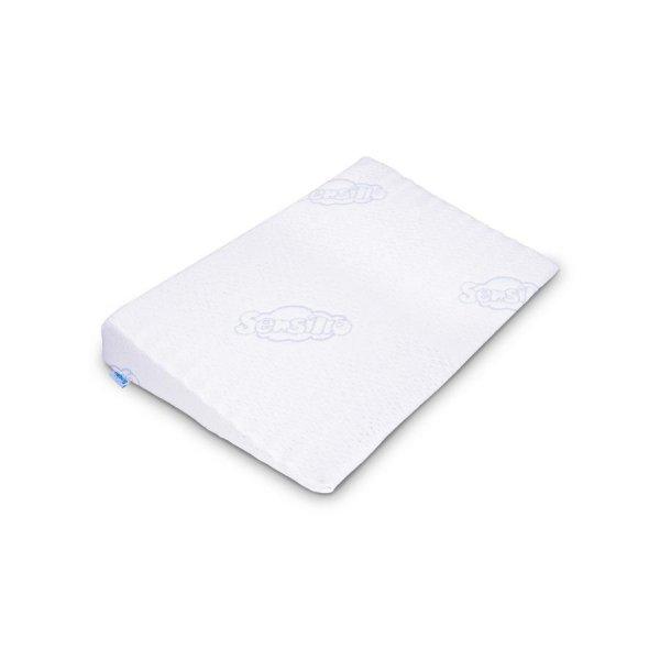 Sensillo Kojenecký polštář - klín Sensillo bílý 59x37 cm Bílá