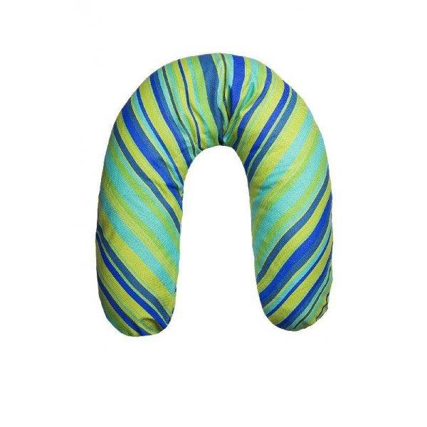 Womar Univerzální kojící polštář Womar modrozelený Modrá