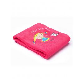 Sensillo Dětská deka Sensillo Děti 75x100 cm raspberry