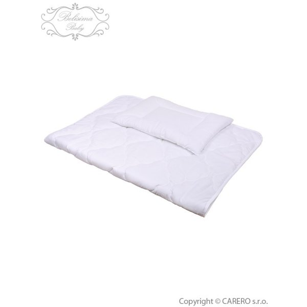 BELISIMA Luxusní výplně Belisima polštář a peřinka 100/135 bílá Bílá
