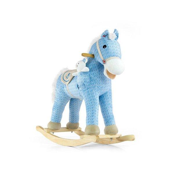 Milly Mally Houpací koník s melodií Milly Mally Pony modrý Modrá