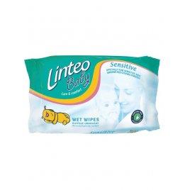 Linteo Dětské vlhčené ubrousky Linteo Baby 64 ks Sensitive