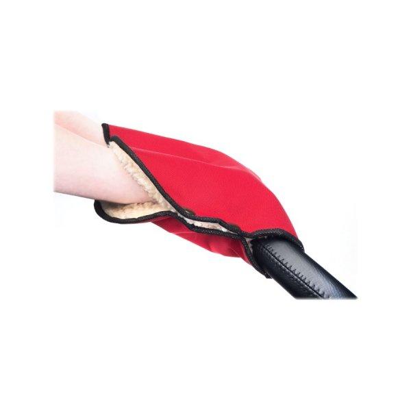 Sensillo Rukávník na kočárek Sensillo 40x45 red Červená