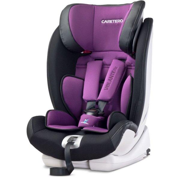 Caretero Autosedačka CARETERO Volante Fix purple 2016 Fialová