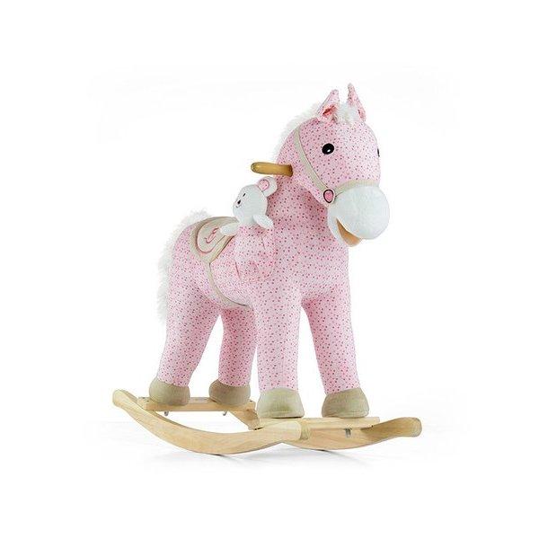 Milly Mally Houpací koník s melodií Milly Mally Pony růžový Růžová