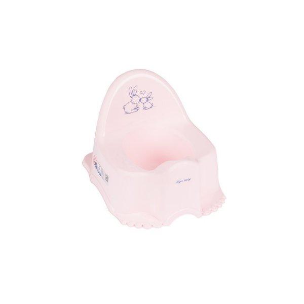 Tega Hrající dětský nočník Bunny růžový Růžová