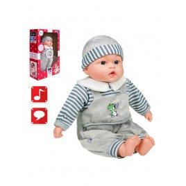 Playto Polsky mluvící a zpívající dětská panenka PlayTo Agnieszka 46 cm