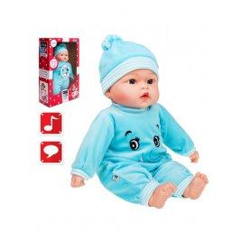 Playto Polsky mluvící a zpívající dětská panenka PlayTo Beatka 46 cm