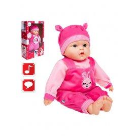 Playto Polsky mluvící a zpívající dětská panenka PlayTo Zosia 46 cm
