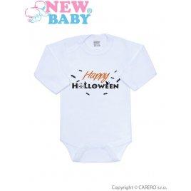New Baby Body s potiskem New Baby Happy Halloween