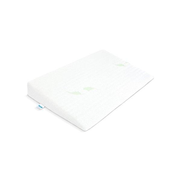 Sensillo Kojenecký polštář - klín Sensillo bílý Luxe s aloe vera 60x38 cm Bílá