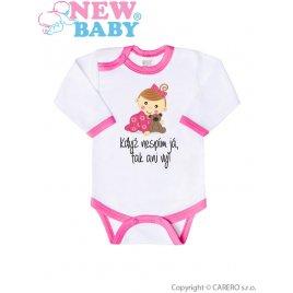 New Baby Body s potiskem New Baby Když nespím já, tak ani vy