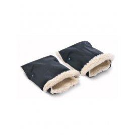 Sensillo Rukávník na kočárek 2 ks Sensillo 45x21 black