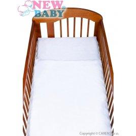New Baby 2-dílné ložní povlečení New Baby 90/120 cm bílé