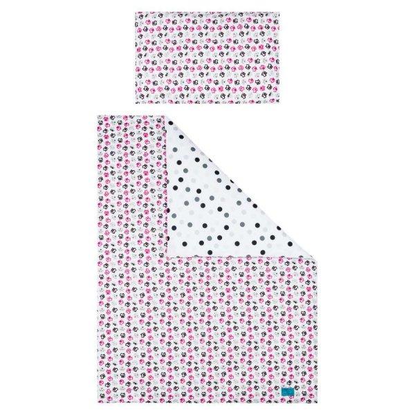 BELISIMA 5-dílné ložní povlečení Belisima Koťátka 100/135 růžové Růžová