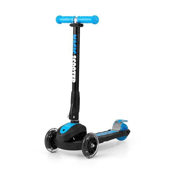 Milly Mally Dětská koloběžka Milly Mally Magic Scooter blue Modrá