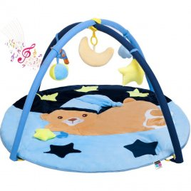 Playto Hrací deka s melodií PlayTo spící medvídek