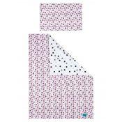 BELISIMA 6-dílné ložní povlečení Belisima Koťátka 100/135 růžové Růžová