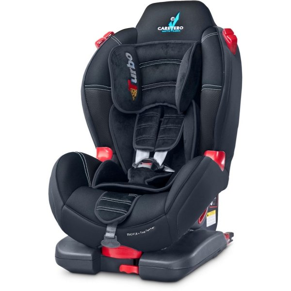 Caretero Autosedačka CARETERO Sport TurboFix black 2016 Černá