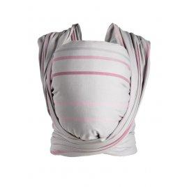 Womar Šátek Womar na nošení dětí Be Close růžovo-šedý