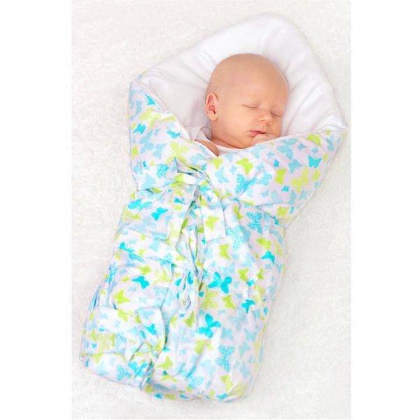 New Baby Klasická šněrovací zavinovačka New Baby hvězdičky šedé Šedá
