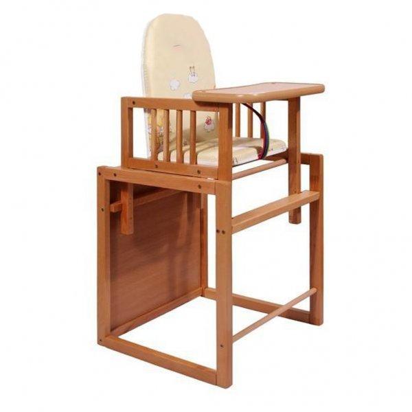 New Baby Buková židlička New Baby Victory - přírodní Přírodní