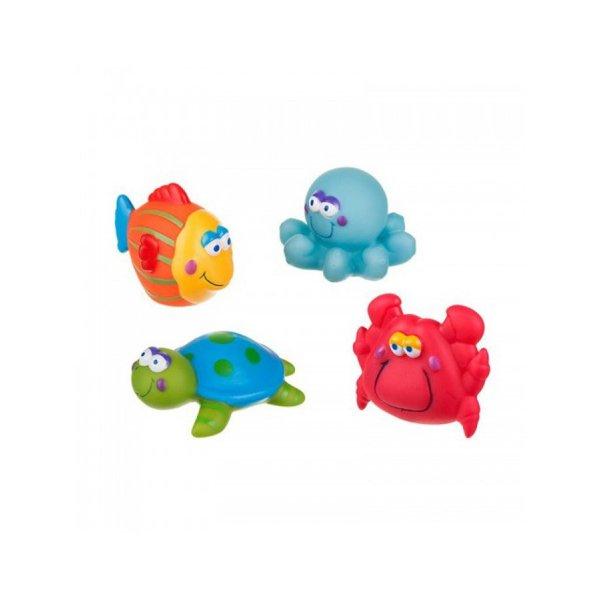 Akuku Hračka do koupele Akuku mořský svět Multicolor