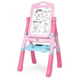 Toyz Oboustranná edukační tabule Toyz pink
