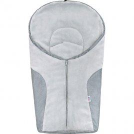 New Baby Luxusní zimní fusák New Baby Car light grey