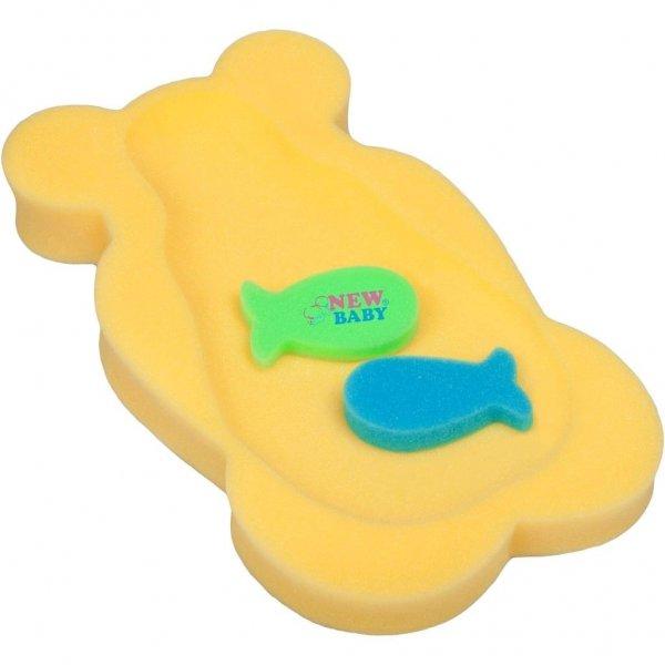 New Baby Pěnová podložka maxi New Baby medvěd žlutý Žlutá
