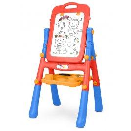 Toyz Oboustranná edukační tabule Toyz red
