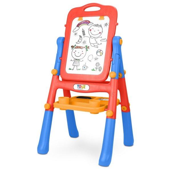 Toyz Oboustranná edukační tabule Toyz red Červená
