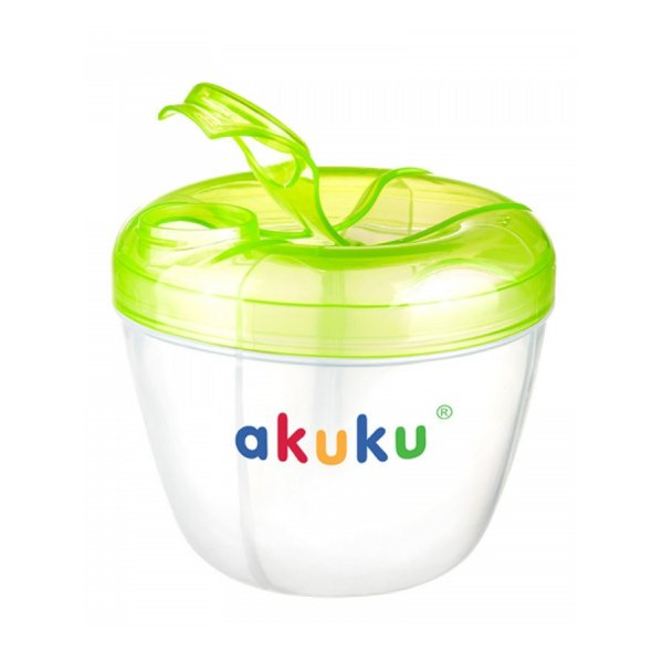 Akuku Dávkovač sušeného mléka Akuku zelený Zelená