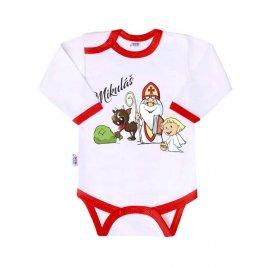 New Baby Body s potiskem New Baby Mikuláš