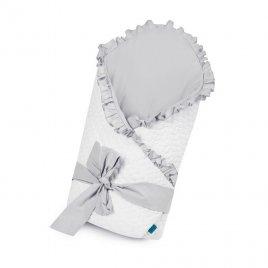 Belisima Zavinovačka s mašlí Belisima Králíček bílo-šedá