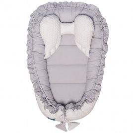 Belisima Luxusní hnízdečko pro miminko Belisima Králíček bílo-šedé