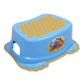 Tega Dětské protiskluzové stupátko do koupelny modré tlapky