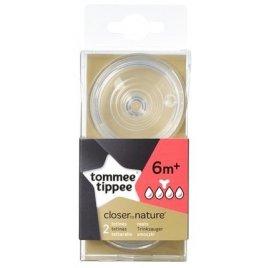 Tommee Tippee Náhradní savičky C2N hustá strava 6+ 2ks