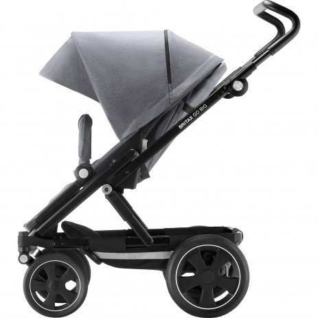 Britax Go Big 2 kočárek 2019 Grey Melange/Black