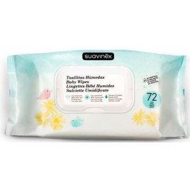 Suavinex Hygienické vlhké kapesníčky - 72 ks