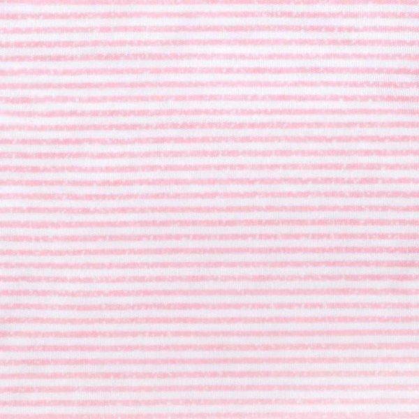 BABY SERVICE Dětské letní celorozepínací kojenecké body Baby Service Stripes růžové Růžová