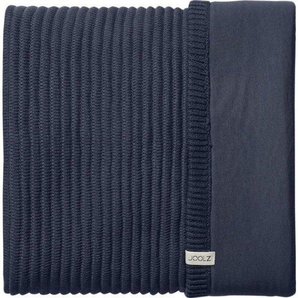 Joolz Essentials Deka pletená – žebrovaná Ribbed Blue