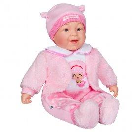 Playto Česky mluvící a zpívající dětská panenka PlayTo Nelinka 46 cm