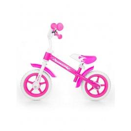 Milly Mally Dětské odrážedlo kolo Milly Mally Dragon pink