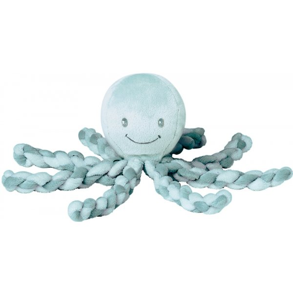 Nattou První hračka miminka chobotnička PIU PIU Lapidou 0m + Mint