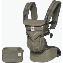 Ergobaby OMNI 360 COOL AIR MESH + DÁREK Khaki Green